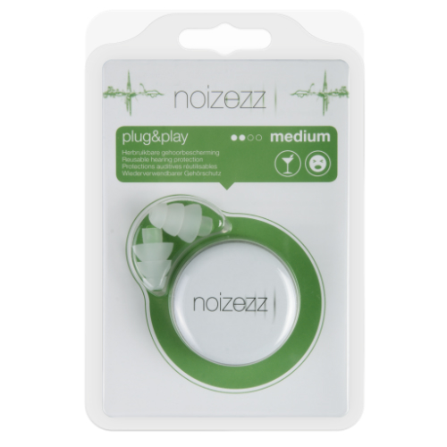 NOIZEZZ Plug & Play Green Medium 18 dB