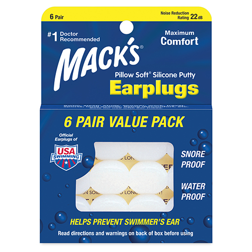 Mack's Earplugs Pillow Soft 6 paar